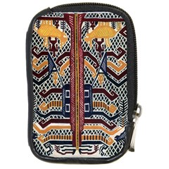 Traditional Batik Indonesia Pattern Compact Camera Cases by BangZart