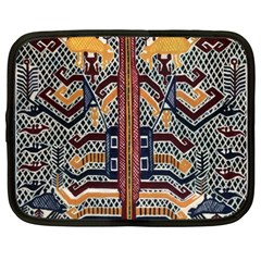 Traditional Batik Indonesia Pattern Netbook Case (xxl)