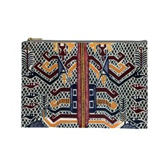Traditional Batik Indonesia Pattern Cosmetic Bag (large)  by BangZart