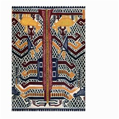 Traditional Batik Indonesia Pattern Large Garden Flag (two Sides) by BangZart