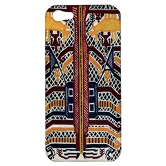 Traditional Batik Indonesia Pattern Apple Iphone 5 Hardshell Case by BangZart