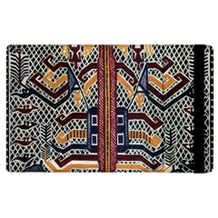 Traditional Batik Indonesia Pattern Apple Ipad 2 Flip Case by BangZart