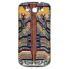 Traditional Batik Indonesia Pattern Samsung Galaxy S3 S Iii Classic Hardshell Back Case