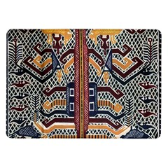 Traditional Batik Indonesia Pattern Samsung Galaxy Tab 10 1  P7500 Flip Case