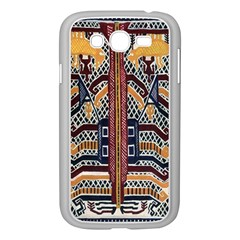 Traditional Batik Indonesia Pattern Samsung Galaxy Grand Duos I9082 Case (white)