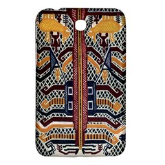 Traditional Batik Indonesia Pattern Samsung Galaxy Tab 3 (7 ) P3200 Hardshell Case  by BangZart