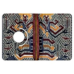 Traditional Batik Indonesia Pattern Kindle Fire Hdx Flip 360 Case by BangZart