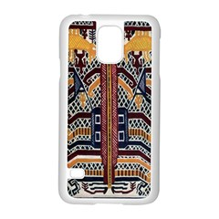 Traditional Batik Indonesia Pattern Samsung Galaxy S5 Case (white)