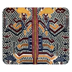Traditional Batik Indonesia Pattern Double Sided Flano Blanket (small)