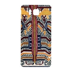 Traditional Batik Indonesia Pattern Samsung Galaxy Alpha Hardshell Back Case by BangZart