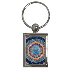 Traditional Pakistani Art Key Chains (rectangle)