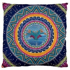 Traditional Pakistani Art Large Cushion Case (one Side)