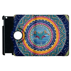 Traditional Pakistani Art Apple Ipad 3/4 Flip 360 Case by BangZart