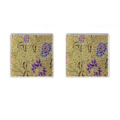 Traditional Art Batik Pattern Cufflinks (square) by BangZart