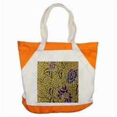 Traditional Art Batik Pattern Accent Tote Bag by BangZart