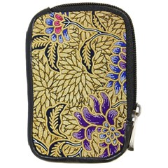 Traditional Art Batik Pattern Compact Camera Cases by BangZart