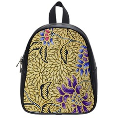 Traditional Art Batik Pattern School Bags (small)