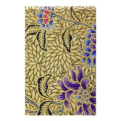 Traditional Art Batik Pattern Shower Curtain 48  X 72  (small)  by BangZart
