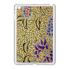 Traditional Art Batik Pattern Apple Ipad Mini Case (white) by BangZart