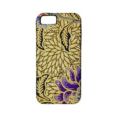 Traditional Art Batik Pattern Apple Iphone 5 Classic Hardshell Case (pc+silicone) by BangZart