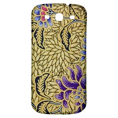 Traditional Art Batik Pattern Samsung Galaxy S3 S Iii Classic Hardshell Back Case by BangZart