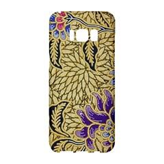 Traditional Art Batik Pattern Samsung Galaxy S8 Hardshell Case  by BangZart