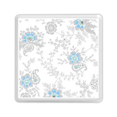 Traditional Art Batik Flower Pattern Memory Card Reader (square)  by BangZart