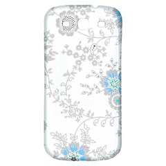 Traditional Art Batik Flower Pattern Samsung Galaxy S3 S Iii Classic Hardshell Back Case by BangZart