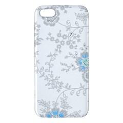 Traditional Art Batik Flower Pattern Iphone 5s/ Se Premium Hardshell Case by BangZart