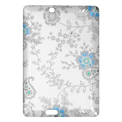 Traditional Art Batik Flower Pattern Amazon Kindle Fire Hd (2013) Hardshell Case by BangZart