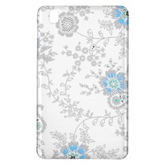 Traditional Art Batik Flower Pattern Samsung Galaxy Tab Pro 8 4 Hardshell Case