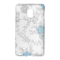 Traditional Art Batik Flower Pattern Galaxy Note Edge by BangZart