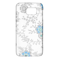 Traditional Art Batik Flower Pattern Galaxy S6