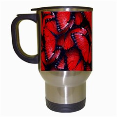 The Red Butterflies Sticking Together In The Nature Travel Mugs (white) by BangZart
