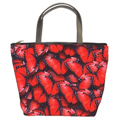 The Red Butterflies Sticking Together In The Nature Bucket Bags
