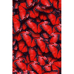 The Red Butterflies Sticking Together In The Nature 5 5  X 8 5  Notebooks by BangZart
