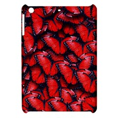 The Red Butterflies Sticking Together In The Nature Apple Ipad Mini Hardshell Case by BangZart