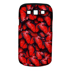 The Red Butterflies Sticking Together In The Nature Samsung Galaxy S Iii Classic Hardshell Case (pc+silicone) by BangZart