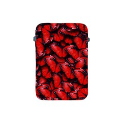 The Red Butterflies Sticking Together In The Nature Apple Ipad Mini Protective Soft Cases by BangZart