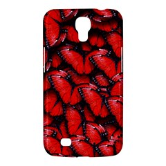 The Red Butterflies Sticking Together In The Nature Samsung Galaxy Mega 6 3  I9200 Hardshell Case by BangZart