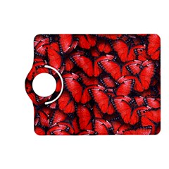 The Red Butterflies Sticking Together In The Nature Kindle Fire Hd (2013) Flip 360 Case by BangZart