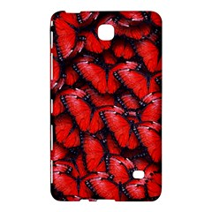 The Red Butterflies Sticking Together In The Nature Samsung Galaxy Tab 4 (7 ) Hardshell Case