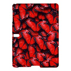 The Red Butterflies Sticking Together In The Nature Samsung Galaxy Tab S (10 5 ) Hardshell Case  by BangZart