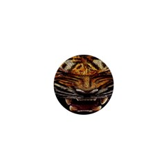 Tiger Face 1  Mini Magnets by BangZart