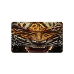 Tiger Face Magnet (name Card) by BangZart