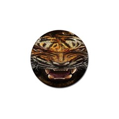 Tiger Face Golf Ball Marker (4 Pack) by BangZart