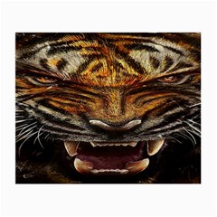 Tiger Face Small Glasses Cloth by BangZart