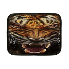 Tiger Face Netbook Case (small)  by BangZart