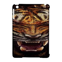 Tiger Face Apple Ipad Mini Hardshell Case (compatible With Smart Cover) by BangZart
