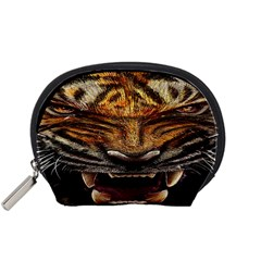 Tiger Face Accessory Pouches (small)